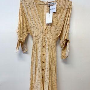 Faithfull The Brand Birgit Dress Rossi Print